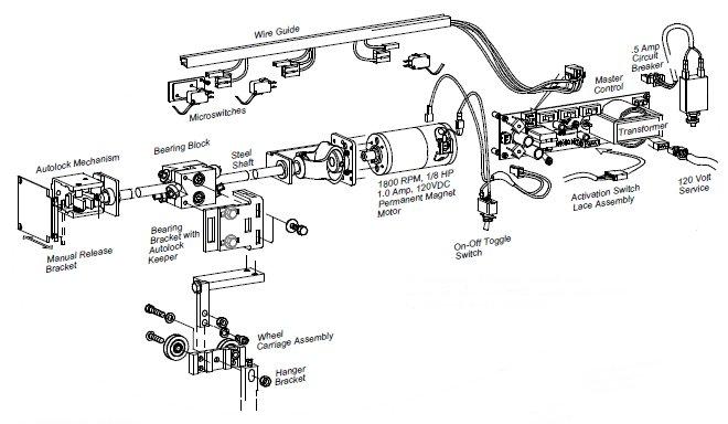 turnstile manuals slider mechanism drawing